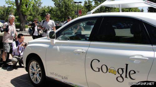 """سيارات """"غوغل"""" ذاتية القيادة قريباً في الشوارع"""