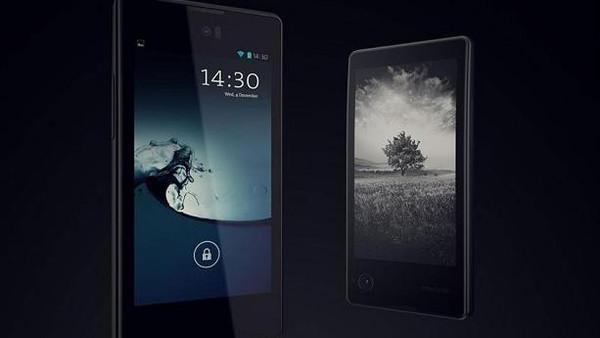 أول هاتف مزود بشاشتين يطلق في الإمارات