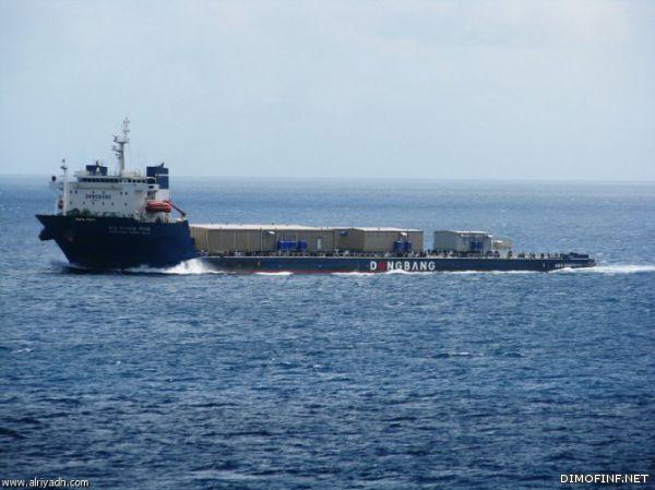 ميناء الملك فهد بينبع يستقبل أكبر وحدة تحلية مياه بالعالم