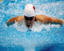 السبّاحة الصينية «جياو» تفوز بذهبية سباق 200 متر فراشة في لندن