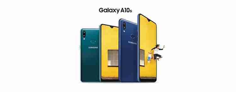 Samsung Galaxy A10s - 6.2 بوصة 32 جيجا بايت/2 جيجا بايت ثنائي الشريحة 4G موبايل - أسود