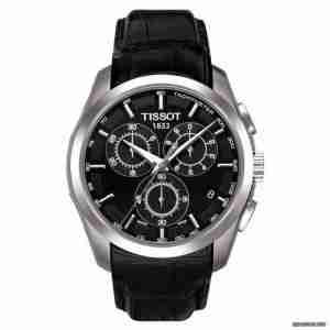 Tissot T035.617.16.051.00 Leather Watch - Black