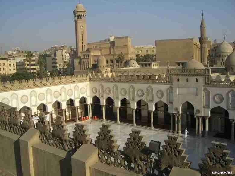 الجامع الأزهر في أبهى صوره بعد ترميمه استعدادًا لافتتاحه غدًا بحضور السيسي وبن سلمان
