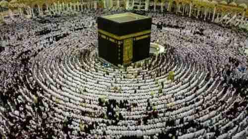 """اخبار السعودية - صورة """"اصطفاف المصلين بالحرم"""" تفوز بالجائزة الشرفية في مسابقة عالمية"""