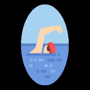 السباحه