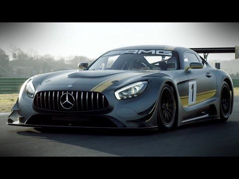مرسيدس الجديدة AMG GT3