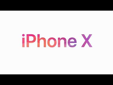 الاعلان الرسمي iPhone X - ابل