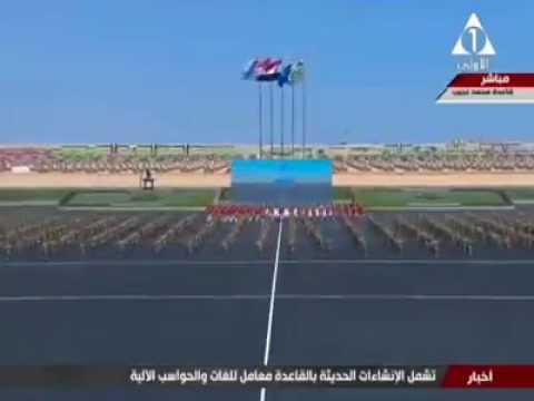 اقوى استعراض للجيش المصري 2017