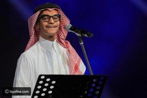 رابح صقر يصدم الجمهور ببكائه المفاجئ على مسرح الرياض